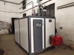600公斤燃气蒸汽发生器落户兰州