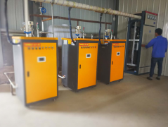 电加热蒸汽发生器助力铁路冬季施工